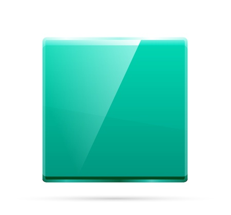 inet: Glass square color plate