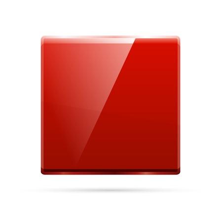 Glass square color plate photo