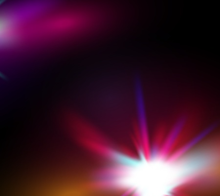 Vector abstract shiny star   space background Vector