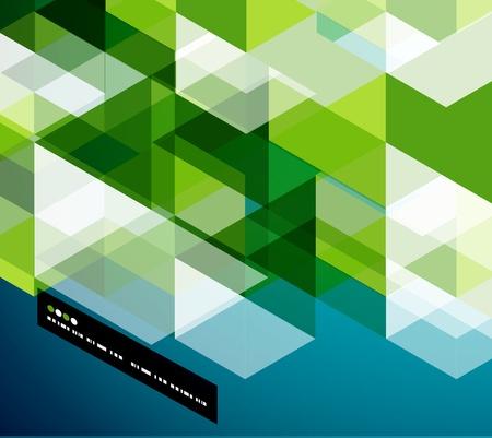 cuadrados: Plantilla vector abstracta geométrica moderna