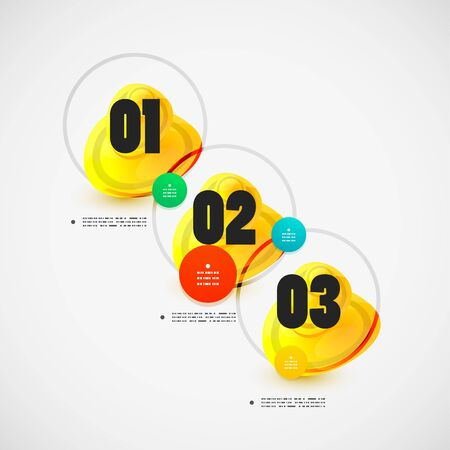 Option banner vector modern infographic Vector