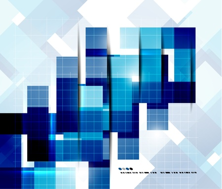 Geometrical modern vector template Stock Vector - 20728259
