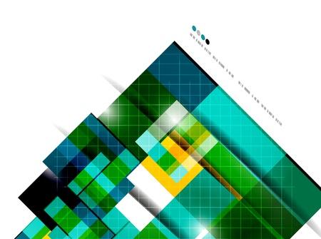 Geometrical modern vector template Stock Vector - 20728264