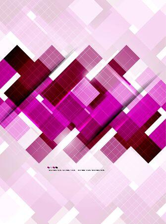 Abstract geometric vector background Stock Vector - 20728272
