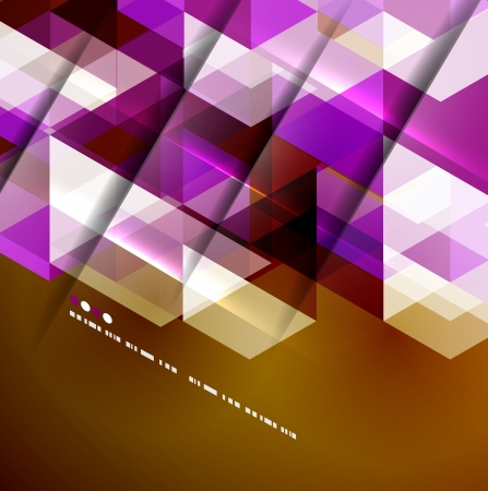 Abstract geometric vector background Stock Vector - 20728274