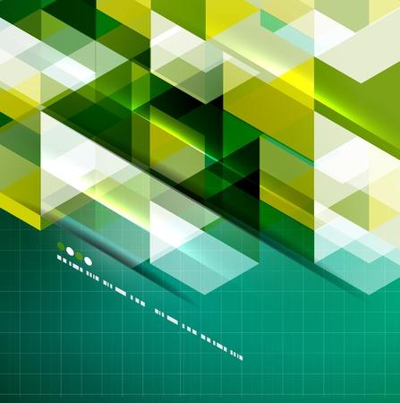 Geometrical modern vector template Stock Vector - 20728275