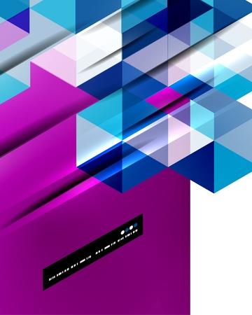 直線の抽象的なベクトルの背景