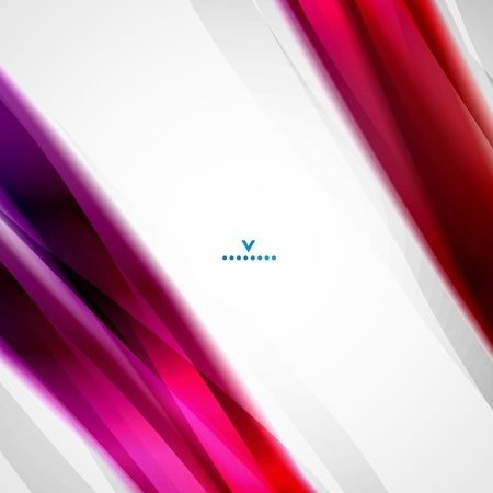 Colorful moving abstract lines modern Vector