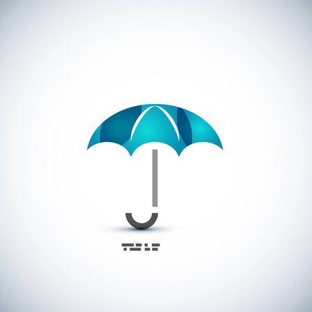protection concept: Protection umbrella icon concept Illustration
