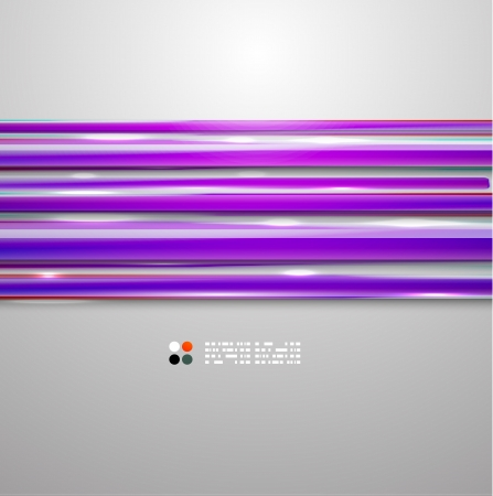 Color bright straight lines Vector