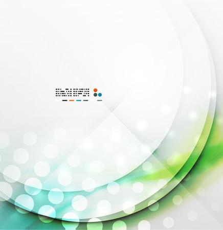 Blurred wave modern design Illustration