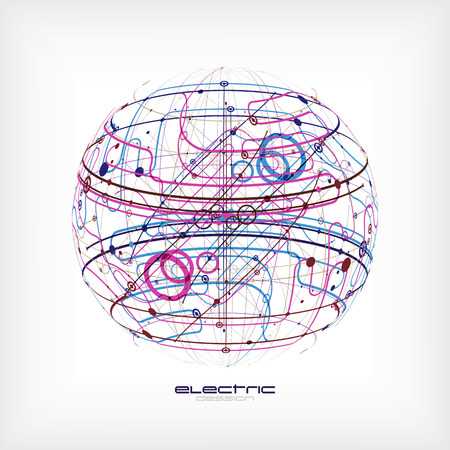 Sphere circuit Illustration