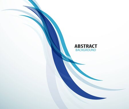 undulation: Abstract blue technology wave