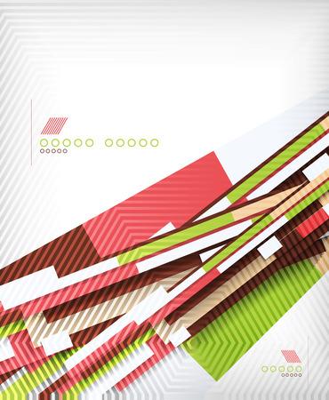 lineas rectas: Resumen 3d l�neas rectas fondo forma geom�trica Vectores
