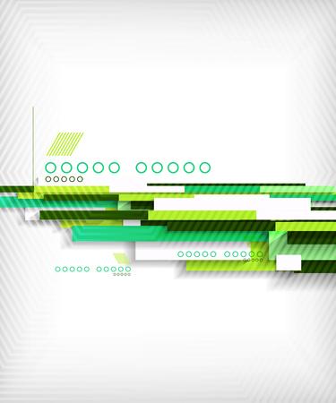 lineas rectas: L�neas rectas 3d abstracto de fondo geom�trico forma Vectores