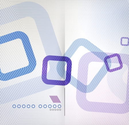 Abstract background geometric square shape