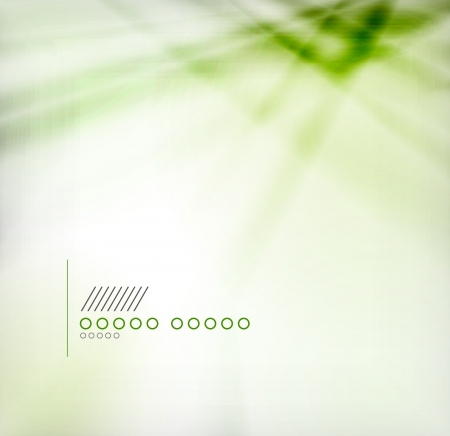 Green blur abstract vector background Vector