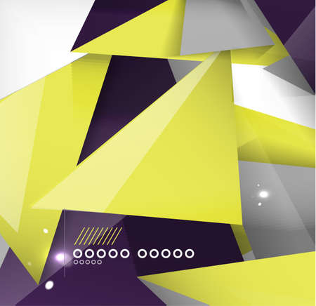 Abstract geometric shape background. For business / technology / education Stock Vector - 23909704