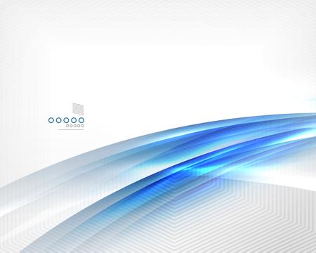 blurs: Blue vector blur motion lines business template