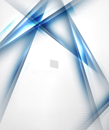 Blue light shadow straight lines design. For business templates, technology backgrounds, presentations, abstract banners Vector
