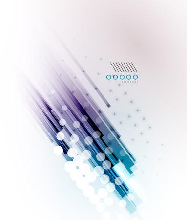 Las líneas rectas - de alta tecnología futurista fondo moderno