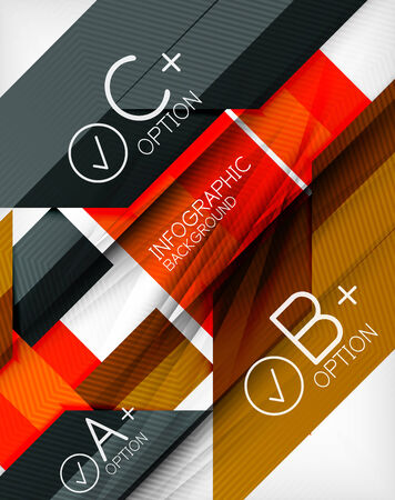 business presentation: Business presentation stripes abstract background