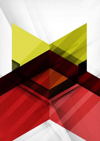 modish: Vector business geometric design background
