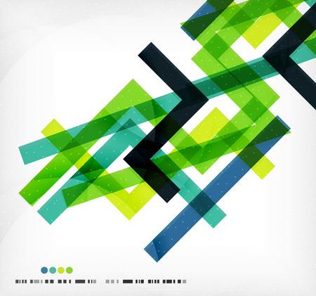 lineas rectas: Las l�neas rectas colorido plantilla de negocio