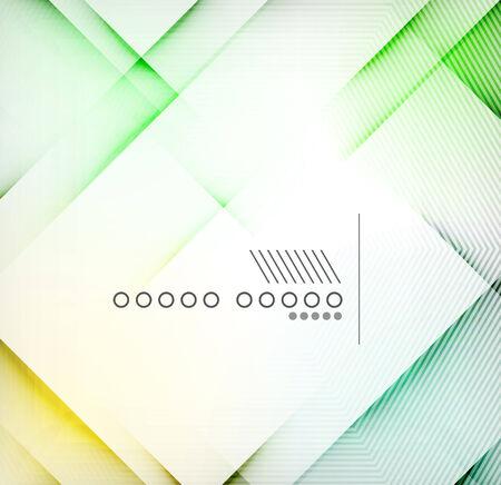 diamond shape: Geometric diamond shape abstract background - hi-tech corporate blank design template Illustration
