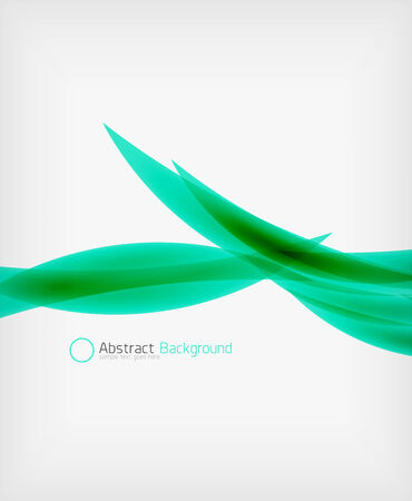 Abstract shape background design template with copy space Vector