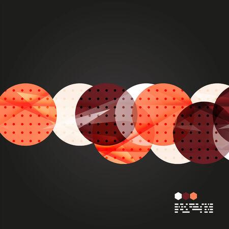 compositions: Luce Vector composizioni geometriche isolato su nero