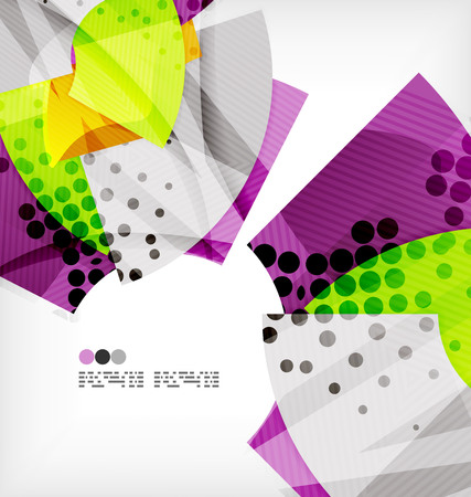 semicircle: Semicircle geometric vector abstract background Illustration