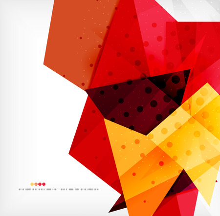 hexagon background: Abstract sharp angles background
