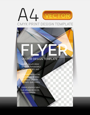Vector Modern Flyer Design Vector