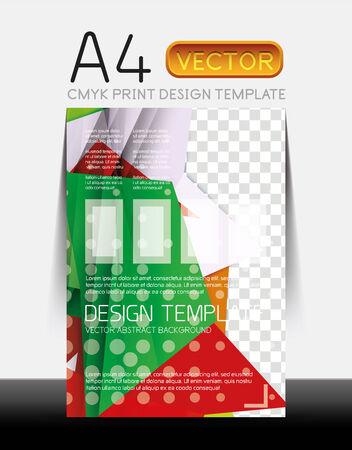 Vector Modern Flyer Design Vector