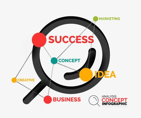 Marketing analysis concept vector Vector