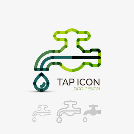 Tap company logo, business concept Vector