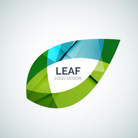healthy growth: Leaf vector Illustration