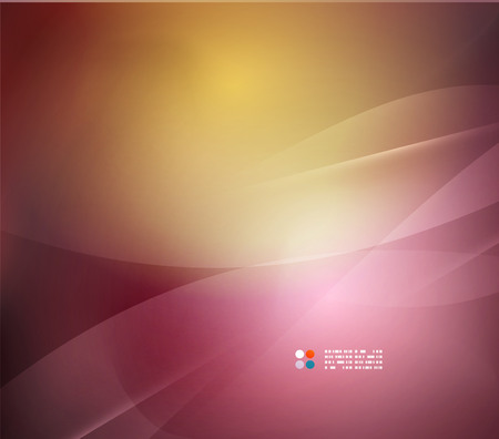 Orange and purple colors template Vector