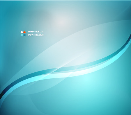 abstract waves: Blue blurred colors abstract background