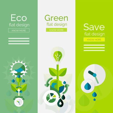 conservacion del agua: Conjunto de dise�o plano conceptos ecol�gicos