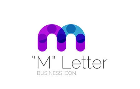 Minimal font or letter design