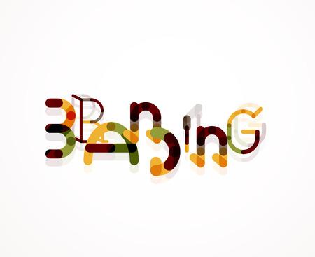 boticário: Marcar palavra font conceito Ilustra��o