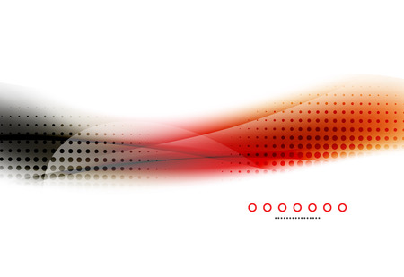 unusual: Unusual abstract background - blurred wave Illustration