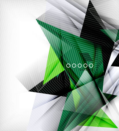 unusual: Color triangles, unusual abstract background