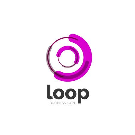 loop: Loop, icono empresarial infinito