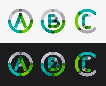 minimal: Minimal line design set