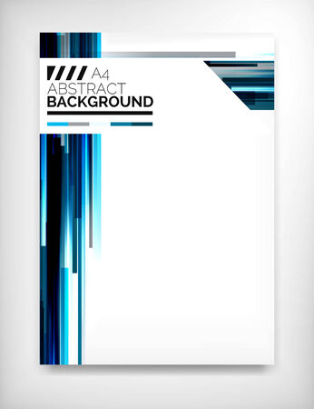 Flyer, Brochure modèle de conception, la mise en page