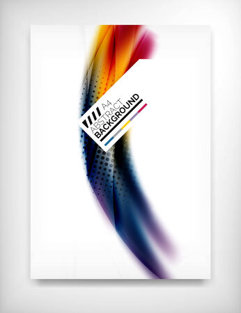 Flyer, Folleto de plantilla de diseño, diseño