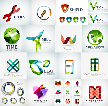 Abstract Unternehmen Logo-Sammlung